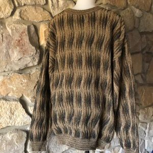 Men's cable sweater